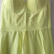 Bebe Lime Dress Size M Photo