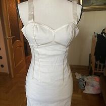 Bebe Linen Womens Dress Sz 4 Photo