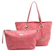 Bebe Liris Tote Bag (Pink or Ocean Blue) 2 in 1 Msrp 109 Photo