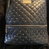 Bebe  Los Angeles Large Stone Danielle Backpack (Navy) Value 109.00 Photo