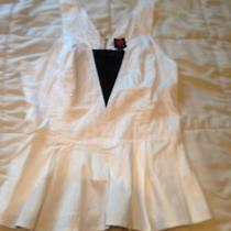 Bebe Medium Peplum Top  Photo