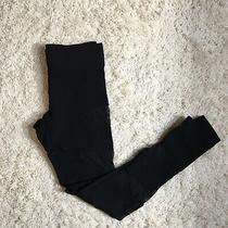 Bebe Mesh Cutout Black Leggings Size Xs Made in Usa  Photo