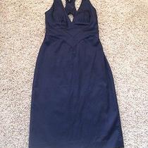 Bebe Navy Blue Dress  Photo