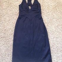 Bebe Navy Blue Dress  Photo
