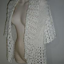 Bebe Off White  Sweater New Sz M  Photo