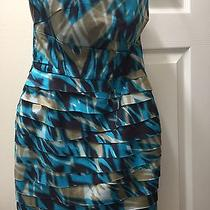 Bebe Percy Pleated Bodice Dress - Size M Brand New With Tags Photo