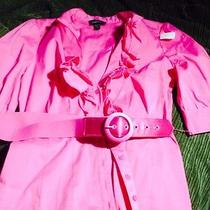 Bebe Pink Blouse Medium Photo