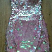 Bebe Pink Dress Xs Photo