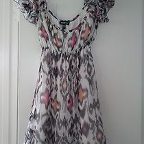 Bebe Print Babydoll Fun Dress Size S Photo