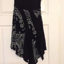 Bebe Printed Skirt Xs Photo