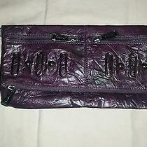 Bebe Purple Clutch Photo