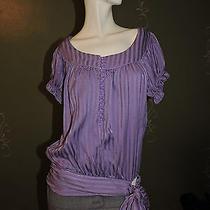 Bebe Purple Top Cute Xs Photo