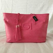 Bebe Purse Hobo Large Handbag Pink Diaper Beach Overnight Bag Nwt Summer Spring Photo