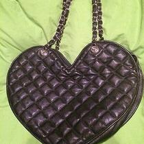 Bebe Quitled Heart Handbag Photo