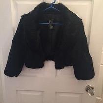 Bebe Rabbit Fur Jacket Size M Photo