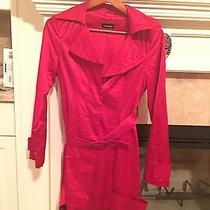 Bebe Red Beautiful Red Jacket Size Small Photo