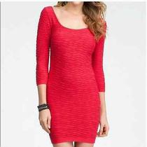 Bebe Red Dress Photo