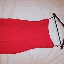 Bebe Red Dress Photo