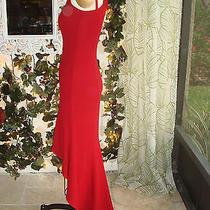 Bebe Red Dress Size Petite Photo