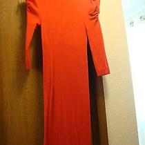 Bebe Red Dress Small Photo