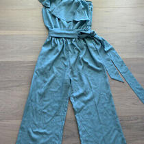 Bebe Romper Sky Blue Color Size Small Excellent Condition Free Ship  Photo
