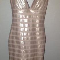 Bebe Rose Gold Dress Photo