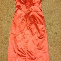 Bebe Satin Dress Size M  Photo
