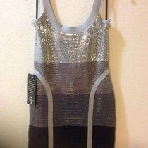 Bebe Sequin Mini Dress Photo