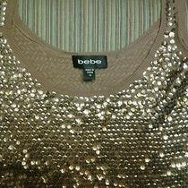 Bebe Sequin Tank Top Photo