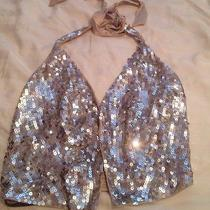 Bebe Sequin Vest Top Photo