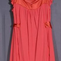 Bebe Size S 4 6 Light Red Dress Photo