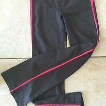 Bebe Sport Pants Black/ Pink Active Wear/ Legging Size Xs Photo