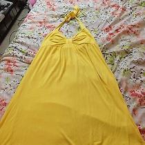 Bebe Sport Yellow Dress Small Photo