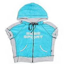 Bebe Sport Zip-Up Hoodie Lg Applique Bebe Bebe Sport Photo