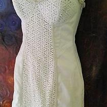 Bebe Strapless Off White Dress Xs No Reserve Photo
