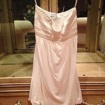 Bebe Strapless White Dress Sz S Photo
