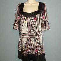 Bebe Striped Dress Size Xs Nice Ks Photo