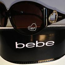 Bebe Sunglasses  - Adventurious Bb7709 New in Case Authentic 189.99 Msrp Photo