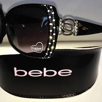 Bebe Sunglasses  - Amusing Bb7700 New in Case Authentic 189.99 Msrp Photo