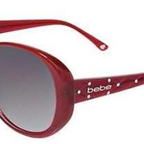 Bebe Sunglasses Bb7026 002 Ruby 61mm Photo