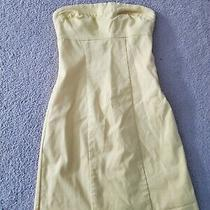 Bebe Sunny Yellow Tube Dress Size 2 Photo