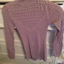 Bebe Sweater Shirt Xs Turtleneck Sweater Photo