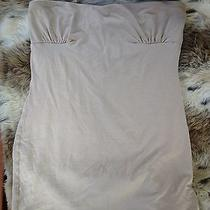 Bebe Tank Top Sleeveless - Tan Tube Top Photo