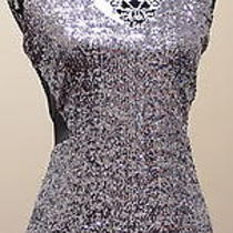 Bebe Textured Sequin Cutout Dress  Photo