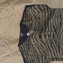 Bebe Tiger Print Top Photo