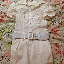 Bebe White Dress Photo