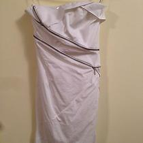 Bebe White Dress  Great Condition Photo