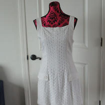 Bebe  White Dress M Size Photo