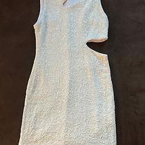 Bebe White Dress Sequins Photo