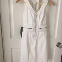Bebe White Dress Size 0 Photo
